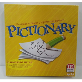 Juego Pictionary Edicion Familiar Art Bgg45