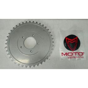 Corona Baccio 50cc Ciclomotor Plana 40 Dientes Motovergara