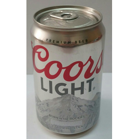 Lata Latita De Cerveza Coors Light De 236 Ml
