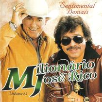 Cd - Milionário & José Rico Vol.25 Sentimental Demais