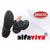 Botina Segurança Bico Aço Ou Composite Bracol E Arteflex