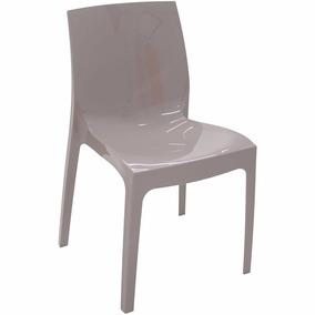 02 Cadeiras Alice Camurça Alto Brilho 92037/210 Tramontina