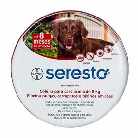 Seresto Coleira Anti Pulgas E Carrapatos Bayer +8kg