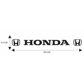 Calcomania, Calca Honda Emblemas