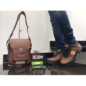 Zapatos Hombre,combo,timberland,bota+bolso+billetera,oferta