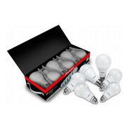 Kit 6 Lâmpada Led 9w Bulbo Soquete E27 Bivolt Casa Comércio