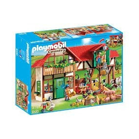 Playmobil Country Granja Figuras Y Animales Art. 6120