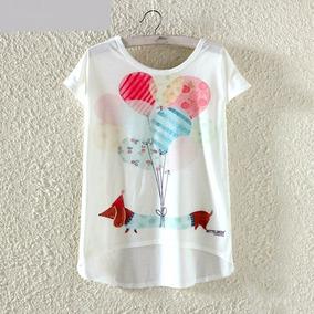 Remera Blusa De Mujer Diseños Originales
