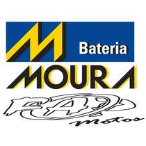 Bateria Moto Crypton Xtz 125 Moura Mv5-d