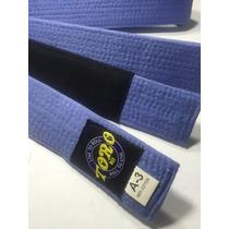 Cinta Toro Bjj Jiu Jitsu Azul Talla A3 Envío Gratis Dhl
