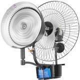 Climatizador Ventilador 60cm Umidificador De Parede A Água!!