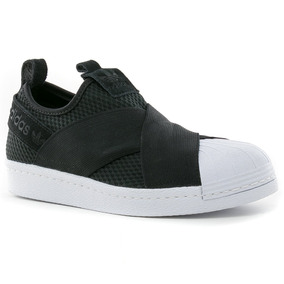 Zapatillas Superstar Slip On Negro adidas