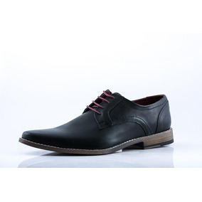 Zapato Blood South Hombre Vestir Negro 7620