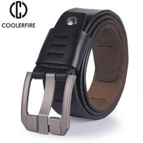 2 Cinturones Casuales Caballero Talla Extras + Camisa Faja