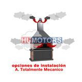 Extractor De Humo Para Parrilla Parrillero Turbina