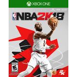 Nba 2k18 Xbox One Juego Nuevo Fisico