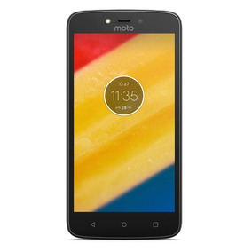 Celular Motorola C Plus Xt1725 Negro Mlp