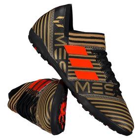 48e63931e3 Chuteira adidas Nemeziz Messi 17.3 Tf Society Preta laranja por Futfanatics