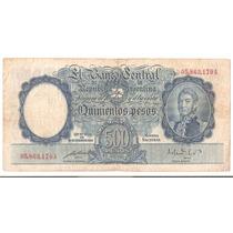 Bottero # 2094 Valor $ 500 M$n Año 1951