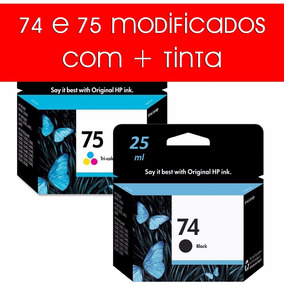Par De Cartucho Novo 74 75 Impressora C4480 C4280 J5780