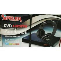 Reproductor Dvd Speler Multiregion Multiformato + Audifonos