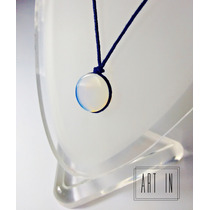 Colar Amuleto Pingente Pedra Da Lua/opala Rainbow Moonstone