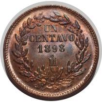 1 Centavo Porfiriano 1898 Mo República Mexicana