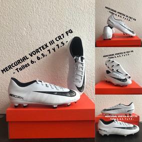 Tacos Nike Mercurial Vortex Iii Cr7 Fg # 6 6.5 7 Y 7.5 Mx