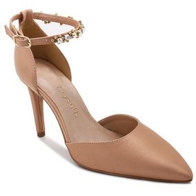 Sapato Scarpin Crysalis Rose Salto Fino | Até 12x Sem Juros