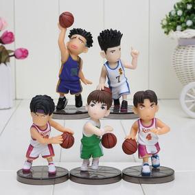 Slam Dunk - Set De 5 Figuras 6cm Sendoh Maki Kenji