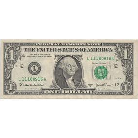 Cedula One Dollar