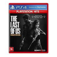 The Last Of Us Remasterizado Ps4 Ps5 Mídia Física Nfe
