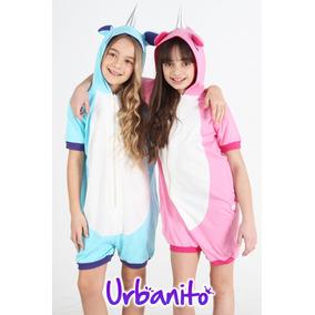 Pijama Unicornio Verano Algodon Niños