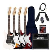 Guitarra Electrica Stratocaster Leonard + Ampli 35w