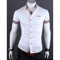 Camisa Slim Fit Flipp Hombre Camiseta Diseños Exclusivos