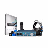 Presonus Audiobox Studio Kit Grabación Placa Audio Interface