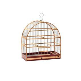Gaiola Madeira Nº 01 - Pássaros Pequeno Porte