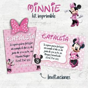 Adornos Para Cumpleanos De Minnie Mouse Disfraces Y Cotillon En - Adornos-de-minnie-para-cumpleaos