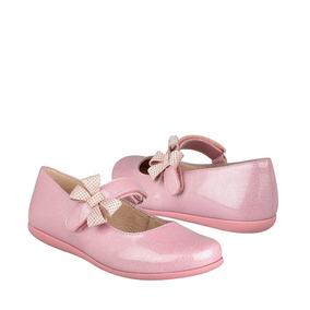 Zapatos Casuales Calzado Chabelo 58908-f 18-21 Glitter Rosa