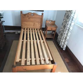 Juego De Dormitorio , 1 Plaza, Pino Oregon , Exelente Estado