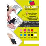 Smart Wallet De Silicona Con Adhesivo! Novedad!