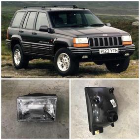 High Quality Farol Jeep Cherokee 1993 94 95 96 97 Acrílico Esq C/ Lampada