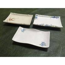 Platos De Sushi Importado Japonesa Material Melanina