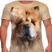 Camiseta Cachorro Chow-chow Masculina
