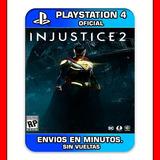 Injustice 2 Ps4 Digital Stock Ya Digital Envios Rapidos