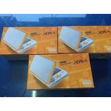 New Nintendo 2ds Color Blanco/naganja Nuevo Envio Gratis