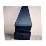 Estufa Chapa C/porta Leña 0.80 X 0.50 X 1.57 20x20cm L.m