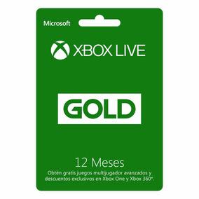 Cartao Xbox Live Gold 12 Meses Brasileira 1 Ano Imediato