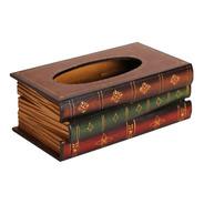3 Livros Caixa Escondida De Madeira Baú 007 26cm