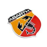 Espectacular Emblema / Placa Fiat 500 / Uno/ Tipo / Abarth